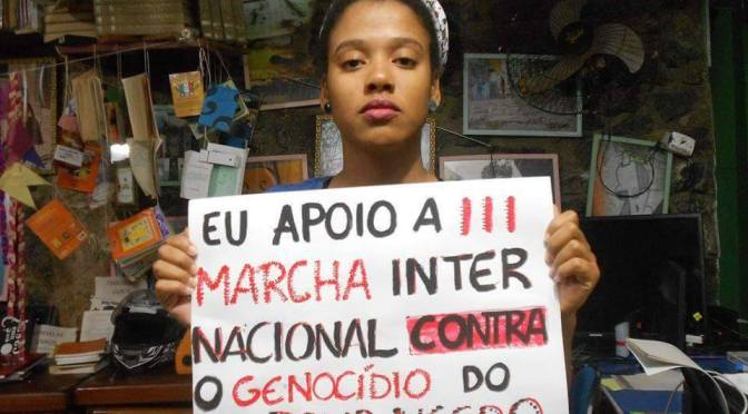 July 29th 2016: Black Lives Matter In Brazil