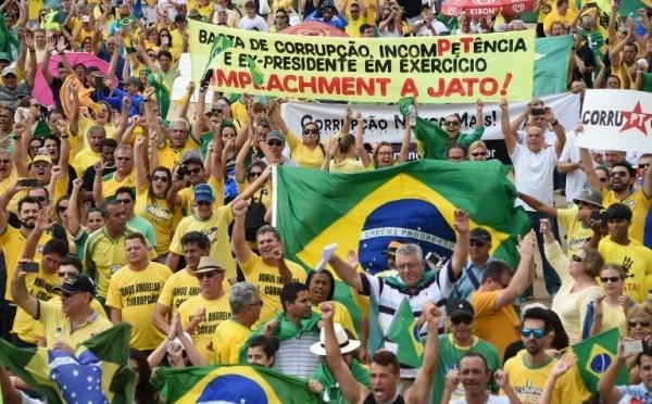 2015: Brazil protests
