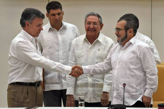 2015: Colombian Peace Process