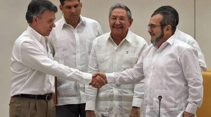 2015: Colombian Peace Process