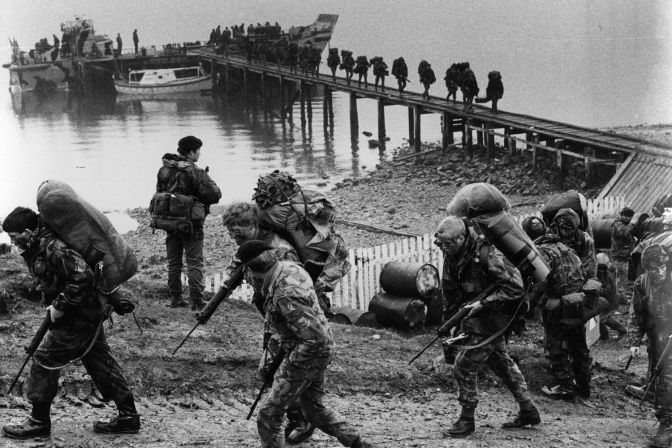 April 14th 2017: The Falkland Islands War