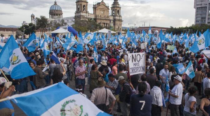 2015: Guatemala Public Uprising