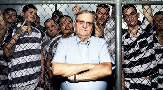 2015: Arizona vs Joe Arpaio