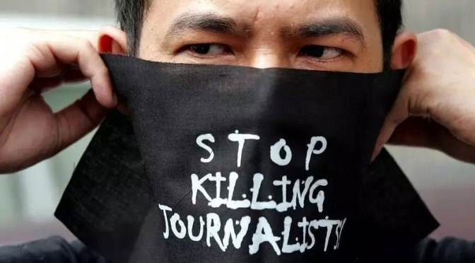 2015: Journalists Dangers in Mexico