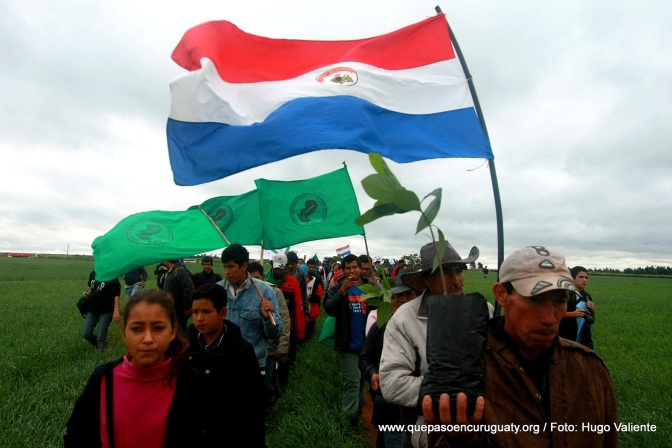 Sept 2nd 2016: Paraguay Land Rights