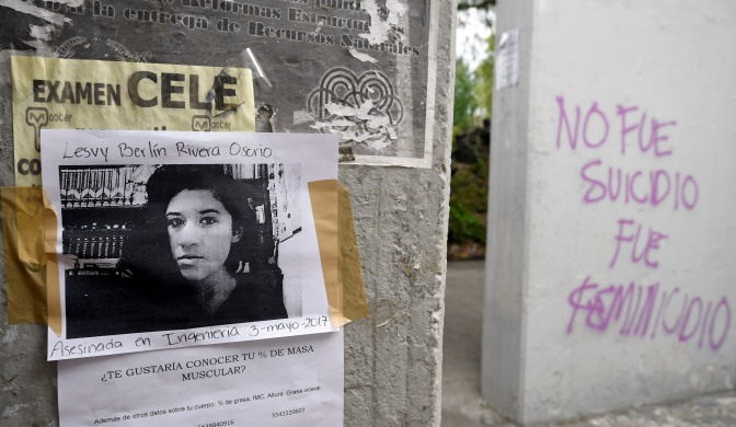 Sept 29th 2017: Femicide In Mexico