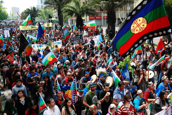 Dec 22nd 2017: The Mapuches of Chile