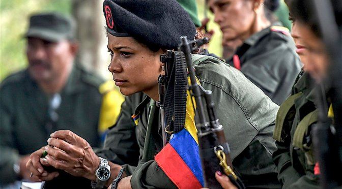 March 2nd, 2018: The FARC's Insurgent Feminism