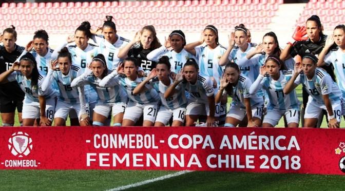 Sept 21st, 2018: Argentina Women's Futbol