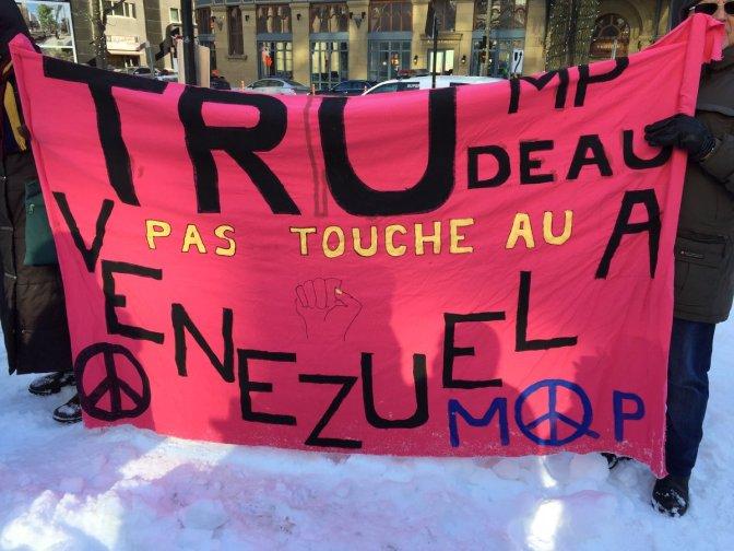 May 3rd, 2019: Canada's Role in Venezuela Crisis