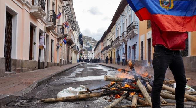 November 22nd, 2019: Ecuador Austerity Measures