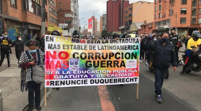 August 20th, 2021: Colombian Community Organizing