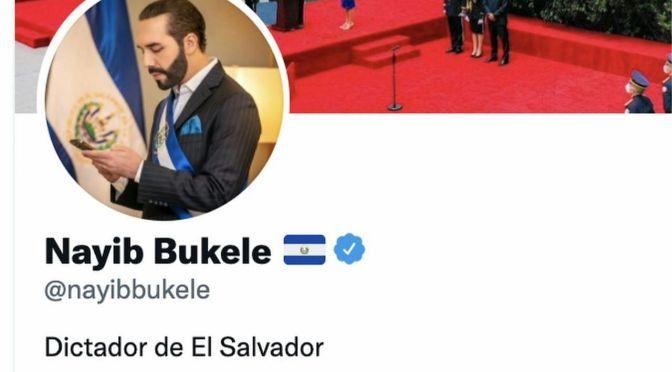 September 24th, 2021: Bukele The Dictator