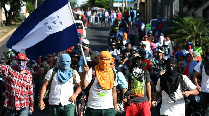 September 17th, 2021: The Right To Protest In Honduras